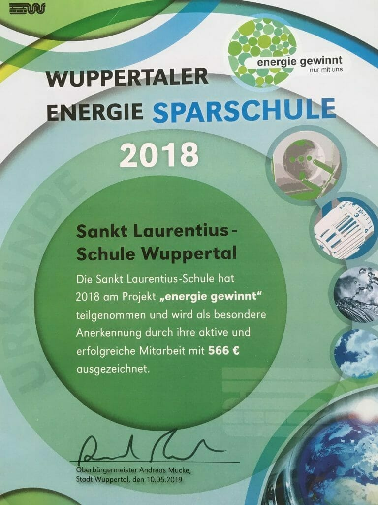 Wuppertaler Energie Sparschule